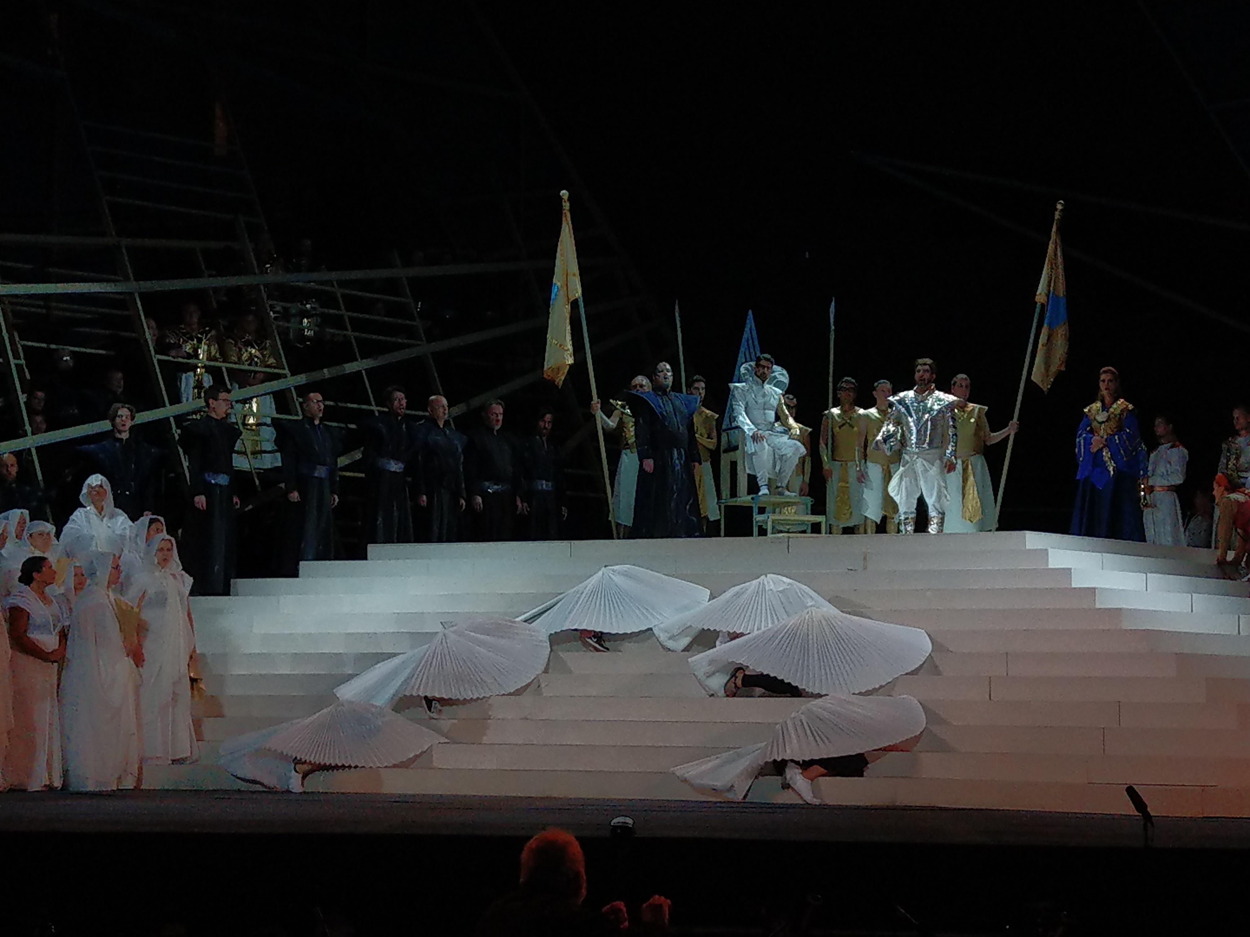 Teltház és siker, avagy az Aida Szegeden